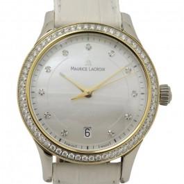 Maurice Lacroix Les Classiques 73 Diamanten Damen Uhr LC1026-PVY21-170