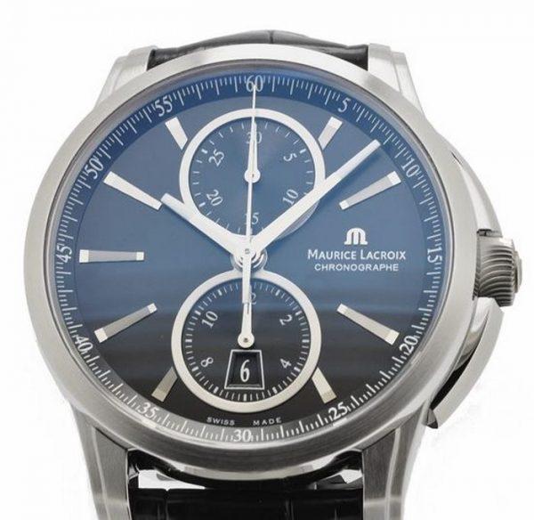 Maurice Lacroix Pontos Chronograaf Horloge PT6178-SS001-330