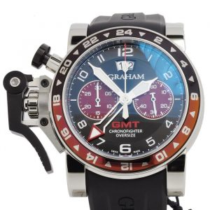 Graham Chronofighter Oversize GMT Watch