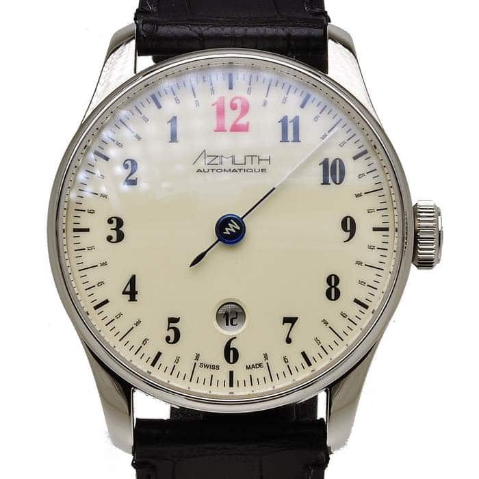 AZIMUTH Back In Time Beige BLAST Automatic Watch