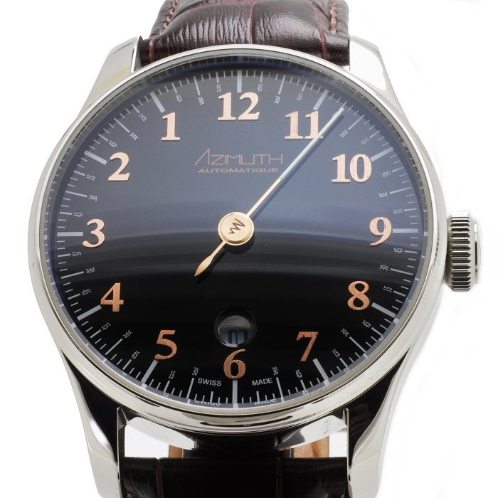AZIMUTH Back In Time Piano Black Watch