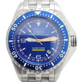 Azimuth XTREME-1 Sea-Hum Dilango Racing Special Edition DIVER Watch Blue Carbon
