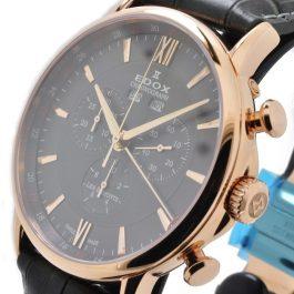 Edox Les Bemonts Chronograph Complication 10501 37R GIR