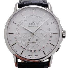 Edox Les Bémonts Perpetual Calendar 01602 3 AIN