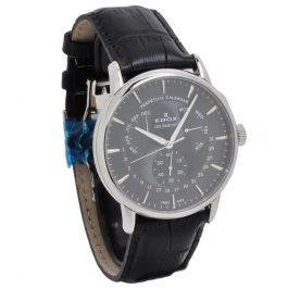 Edox Les Bémonts Perpetual Calendar Horloge 01602 3 NIN