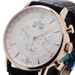 Edox Les Bemonts Chronograph Complication 10501 37R AIR