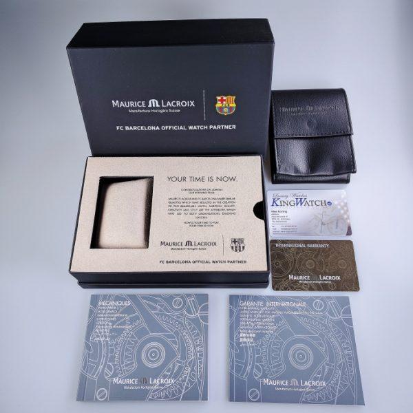 Maurice Lacroix Pontos S Chronograph FC Barcelona PT6008-SS002-431