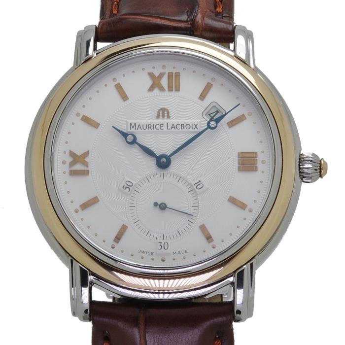 Maurice Lacroix Masterpiece Peseux Horloge MP7028-SS001-110