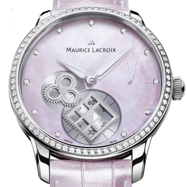Maurice Lacroix Masterpiece Square Wheel Diamonds Lady MP7158-SD501-570