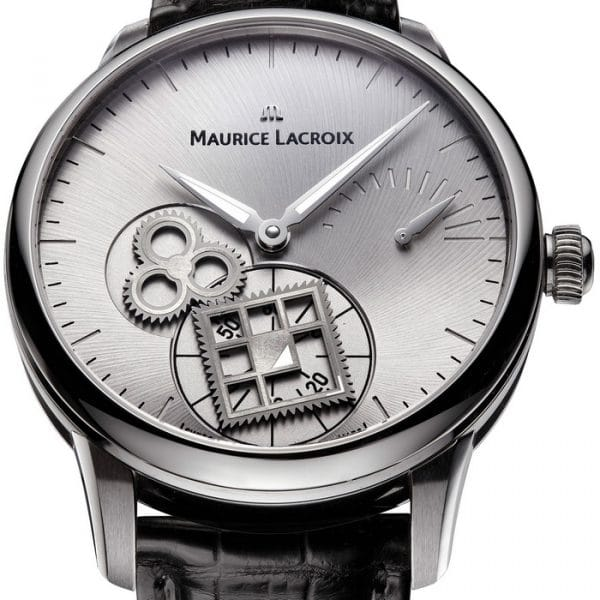 Maurice Lacroix Masterpiece Roue Carree Seconde Watch MP7158