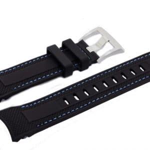 Maurice-Lacroix-Pontos-S-PT6008-BLUE-Rubber-Watch-Strap