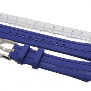 Maurice-Lacroix-Pontos-Rubber-Strap-21-mm-PT6188-PT6118-Blue