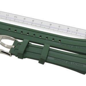 Maurice-Lacroix-Pontos-Rubber-Strap-21-mm-PT6188-PT6118-Green