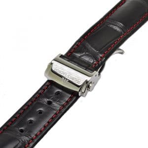 Maurice Lacroix Kroko 20 mm with folding clasp buckle