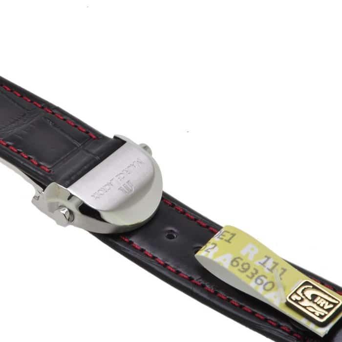 Maurice-Lacroix-Kroko-Croco-Leather-Strap-20-mm-foldingbuckle