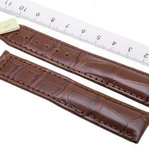 Maurice-Lacroix-Kroko-Croco-strap-20-mm-Cognac