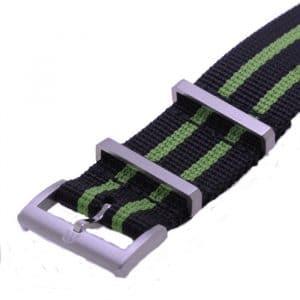 Maurice Lacroix NATO horlogeband PT6008 PT6018 Pontos S 22 mm black green
