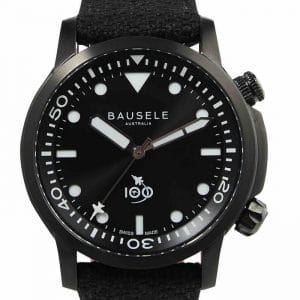 Bausele-AVIATOR-RAAF-Australian-Air-Force-Centenary-watch-Black