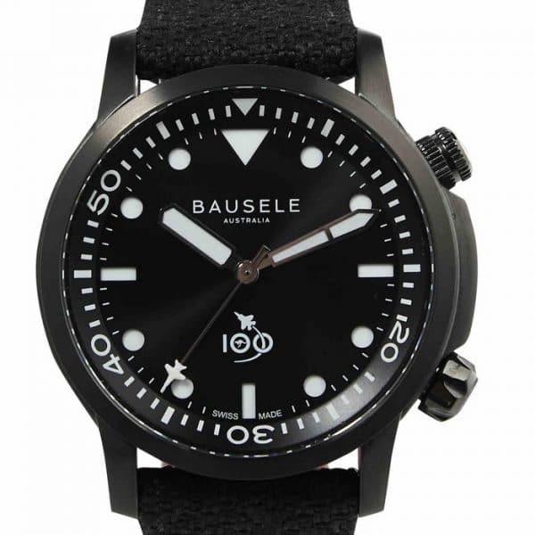 Bausele-AVIATOR-RAAF-Australian-Air-Force-Centenary-watch-Black