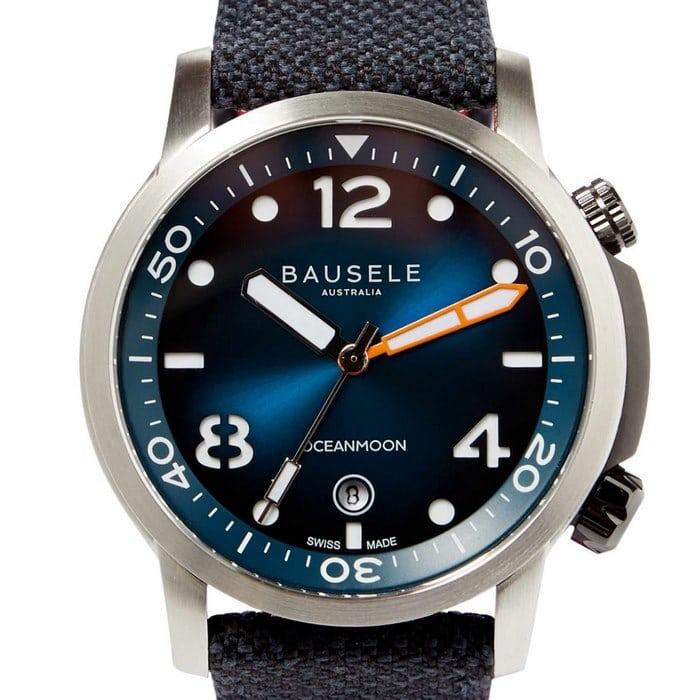 Bausele-OceanMoon-IV-BLUE-Limited-Edition-Swiss-made-Australian-Watch
