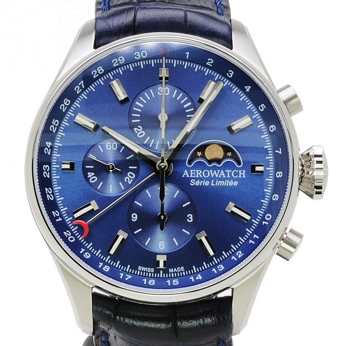 AEROWATCH Les Grandes Classiques Moon Phase Limited Edition 69989 AA03