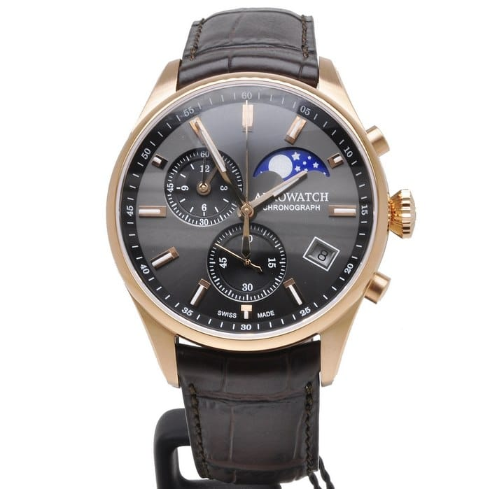 AEROWATCH-Les-Grandes-Classiques-Moon-Phases-78990-RO02-Watch