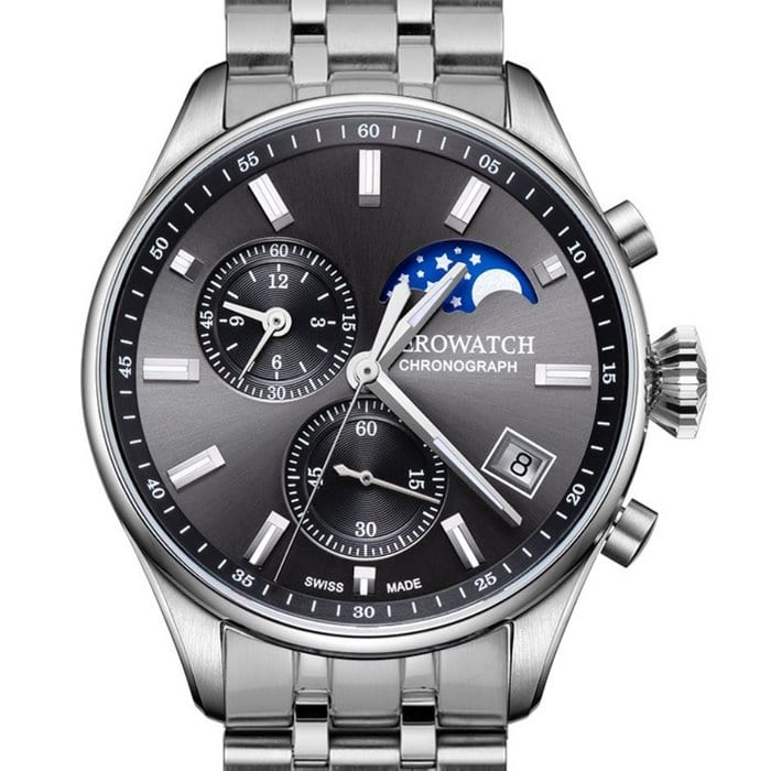 AEROWATCH Les Grandes Classiques Moon Phases 78990 AA01 M