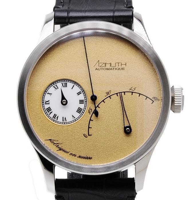 Azimuth-Regulateur-Retrograde-Minutes-Frosty-Gold-Watch